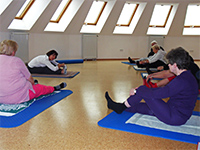 Sport- und Präventionstrainerin im Gesundheitsbereich